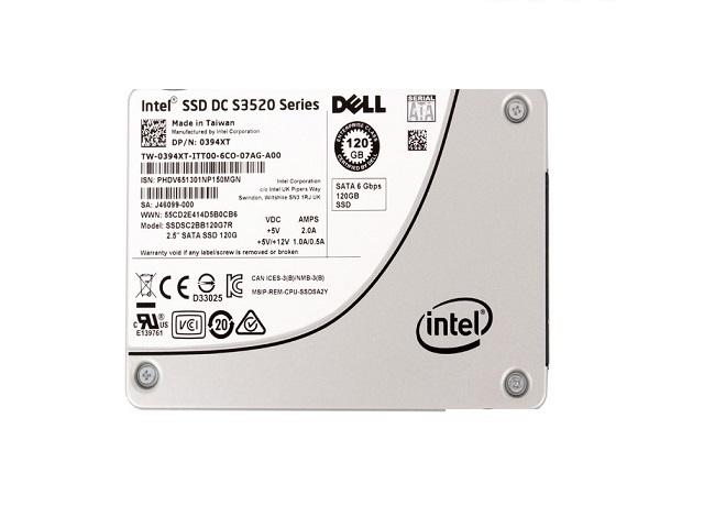 Dell Intel SSD DC S3520 Series 120GB SATA 3.0 6Gbs 2.5